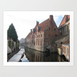 In Bruges... Art Print