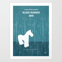 No881 My Blade runner 2049 MMP Art Print