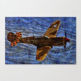 248 P40N Warhawk Canvas Print