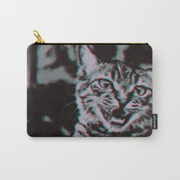 Kitten Glitch Carry-All Pouch