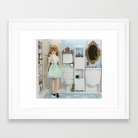 bathroom Framed Art Prints featuring Bathroom by ♥  Little Enchanted World ♥