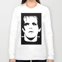 lou reed Long Sleeve T-shirts featuring Lou Reed Reanimated  by Spirit Monster