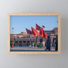 Pride of Jemaa el-Fna (Marrakech) Framed Mini Art Print