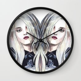 Sky Ferreira Editorial  Wall Clock