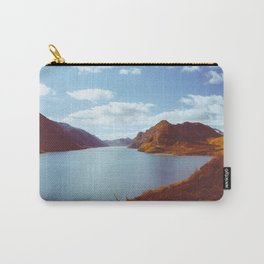 Blue Lake in Scandinavia Carry-All Pouch