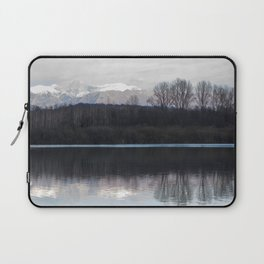A lake in the mountains Laptop Sleeve