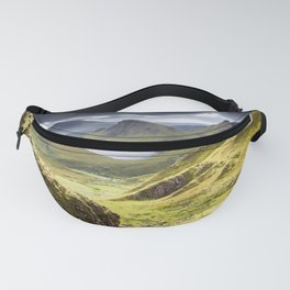 Quiraing on Isle of Skye in Scotland Fanny Pack