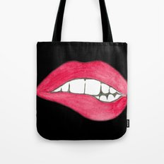 Bare Your Teeth Tote Bag
