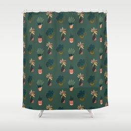 Grow Your Own Way (Dark) Shower Curtain