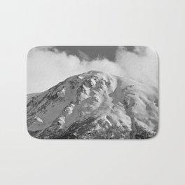 Snowy Alaskan Mountain - 2 Bath Mat