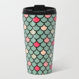 Watermelon Mermaid Travel Mug