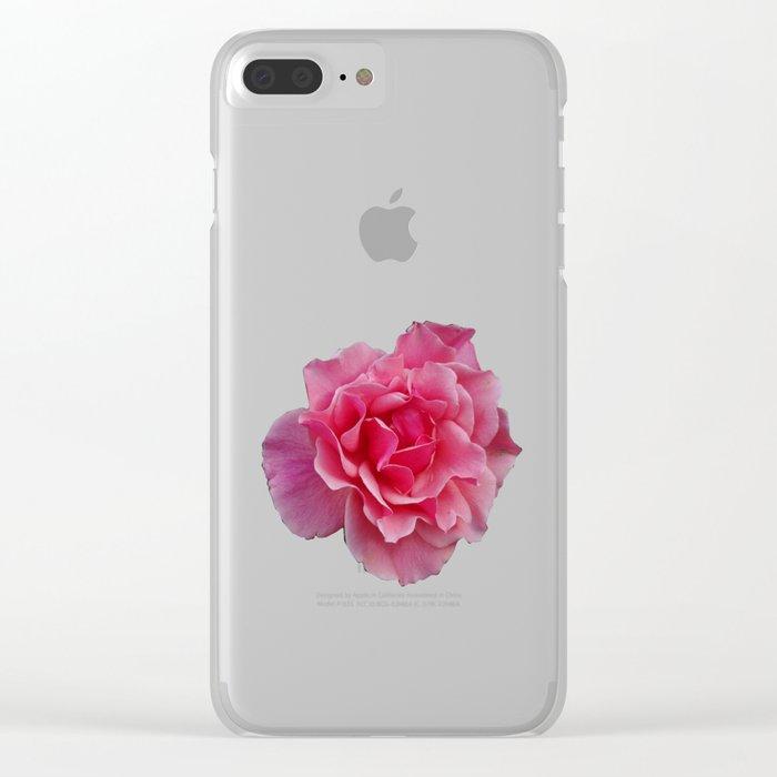 Rose Divine Clear iPhone Case