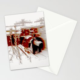 Fast Drumming Stationery Cards