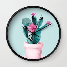 Cactus II Wall Clock