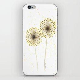 Dried Allium Flower iPhone Skin
