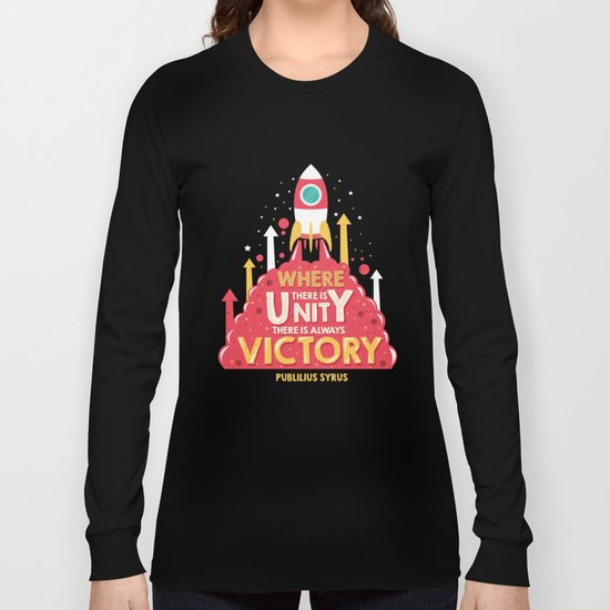 Unity is victory Long Sleeve T-shirt