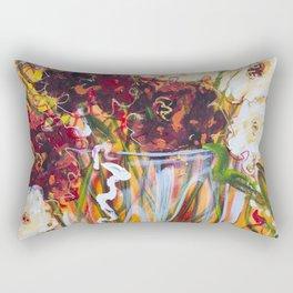 Diane L - Fetes de fleurs Rectangular Pillow