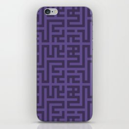 Snake Very Violet iPhone Skin