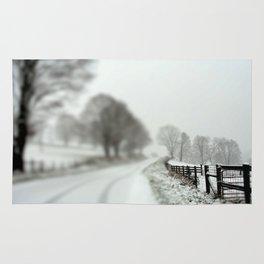 cold fence Rug