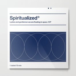 Spiritualized - Ladies And Gentlemen We Are Floating In Space Metal Print