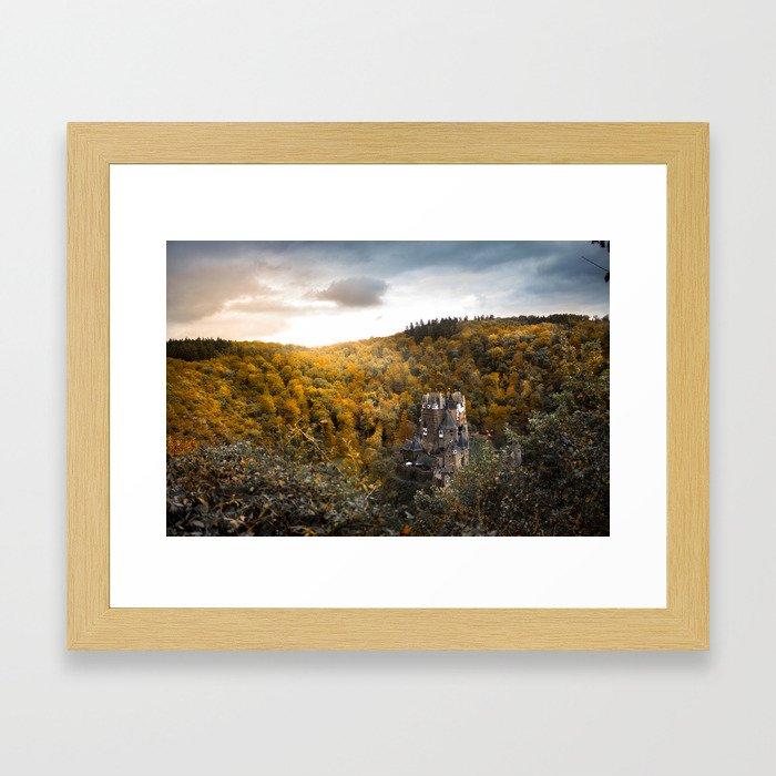 Castle in the Woods 3 Framed Art Print
