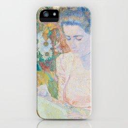 Marie Jeanette de Lange, Jan Toorop, 1900 iPhone Case