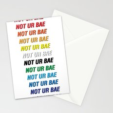 Not Ur Bae Stationery Cards