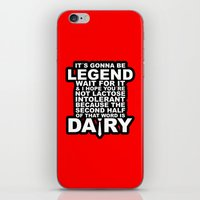 himym iPhone & iPod Skins featuring HIMYM: Legendary by dutyfreak