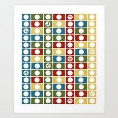 HK board game Art Print