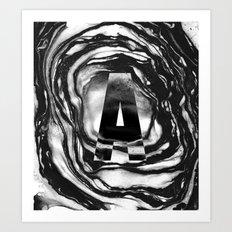 Marble A Art Print