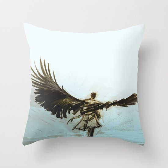 A Lonely Road Throw Pillow