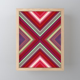 Electronic Ruby Framed Mini Art Print