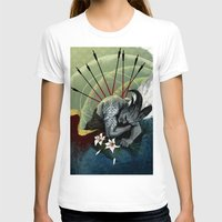 "dragon age T-shirts featuring Dragon Age - Qunari - Betrayal by Barbara ""Yuhime"" Wyrowińska"