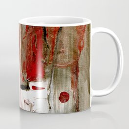 Abstract Horse Coffee Mug