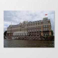 Amsterdam Hotel Canvas Print