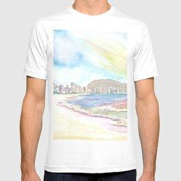 Beach Dreams at The Copacabana Rio de Janeiro T-shirt