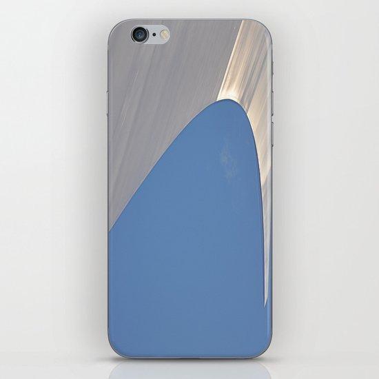 Found Art Deco Breaking Wave iPhone & iPod Skin