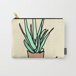 Potted Plant Drawing Carry-All Pouch