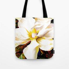Italian Magnolia, Mediterranean floral art Tote Bag