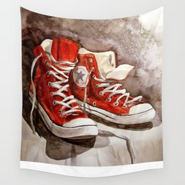 Converse sneakers Wall Tapestry