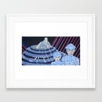 tron Framed Art Prints featuring Tron by Robert E. Richards
