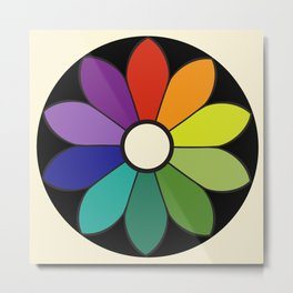 James Ward's Chromatic Circle (interpretation) Metal Print
