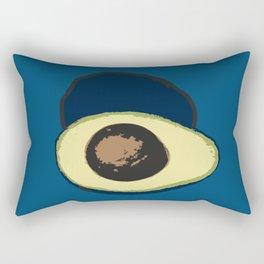Life Cycle of an Avocado Rectangular Pillow
