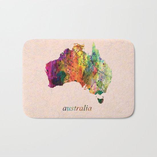 Australia  Bath Mat
