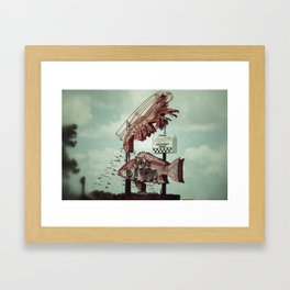 Crawdaddy Framed Art Print
