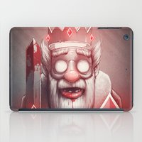 king iPad Cases featuring King of Doom by Dr. Lukas Brezak