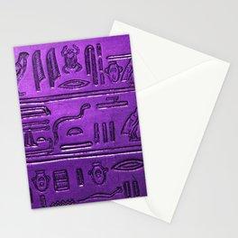 Hieroglyphs 2014-1029 Stationery Cards