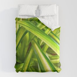 Spider Plant Leaves Comforters