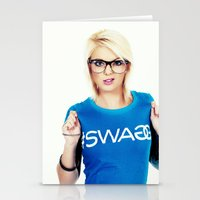 swag Stationery Cards featuring Swag by Taylor Brynne-Model
