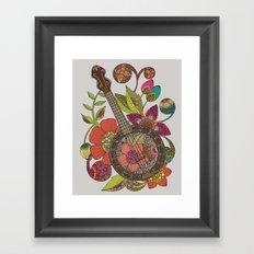 Ever Banjo Framed Art Print